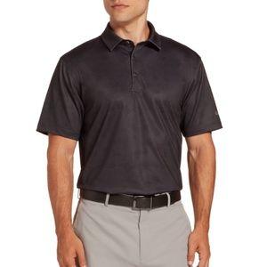 NWT Walter Hagen Golf Shirt Polo Medium Gray NEW